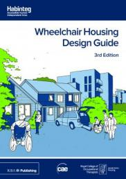 A picture of the cover of the Wheelchair Housing Design Guide