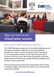 CAE Pathways flyer - back