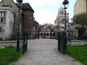 The Charterhouse entrance