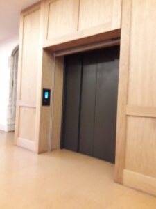 The Charterhouse lift to upper floors