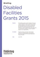 Download the Disabled Facilities Grants briefing