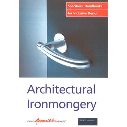 Architectural ironmonger cover