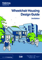 Front cover of wheelchair housing design guide