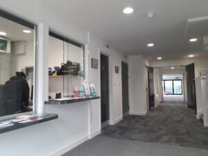 Havelock family centres new reception area