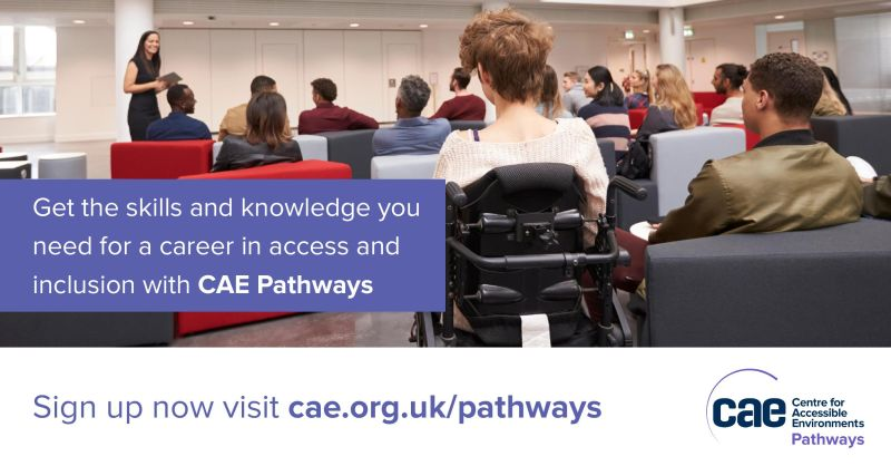 CAE's Pathways Academy trains disabled students for a career in access.