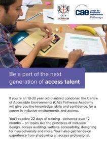 be a part of the next generation of access talent flyer